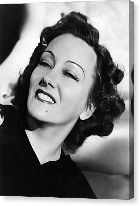 Gloria Swanson, Ca. Early 1940s Canvas Print by Everett