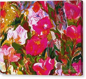 Fuschia Canvas Print - Glorious by Beth Saffer