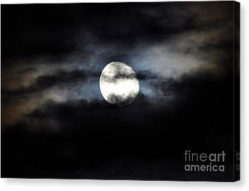 Glorious Gibbous Canvas Print by Al Powell Photography USA