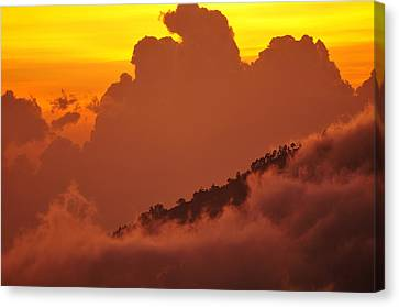 Canvas Print featuring the photograph Glorious Sunrise by Sebastien Coursol
