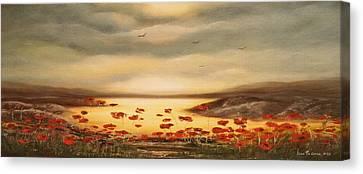 Glory - Panoramic Sunset Canvas Print