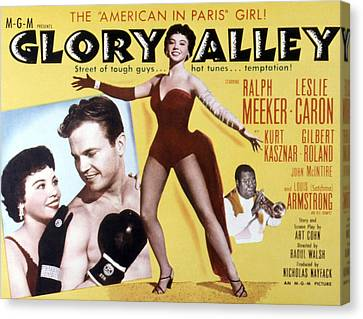 Glory Alley, Leslie Caron, Ralph Canvas Print by Everett