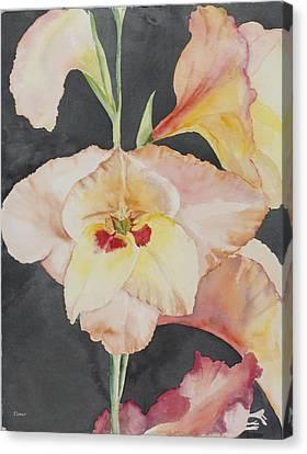 Glory Glads Canvas Print by Judy Loper