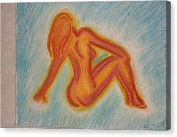 Glow Canvas Print by Genoa Chanel