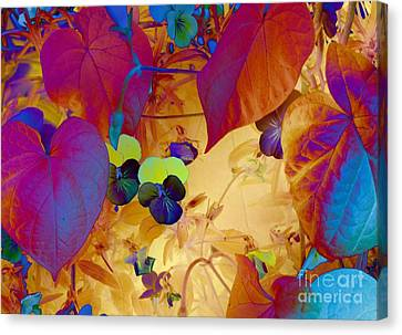 Glowing Canvas Print by Erica Hanel