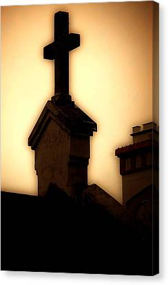 Glowing Resurrection Canvas Print