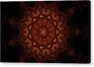 Glowing Within 3 Canvas Print by Rhonda Barrett