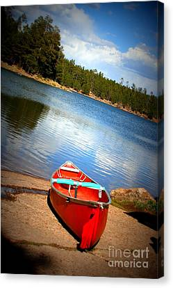 Go Float Your Boat Canvas Print