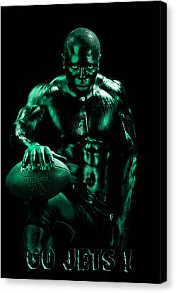 Go Jets Canvas Print by Val Black Russian Tourchin