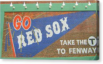Go Sox Canvas Print by Bruce Carpenter