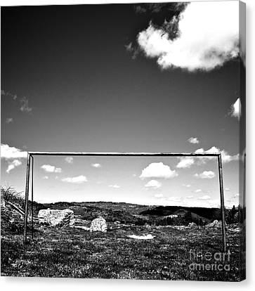 Goal Canvas Print by Bernard Jaubert