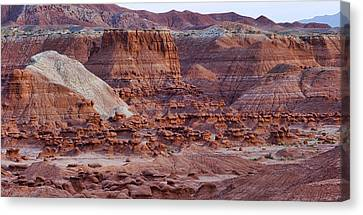 Goblin Valley Triptych Right Canvas Print by Gregory Scott