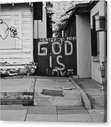God Is Love Canvas Print