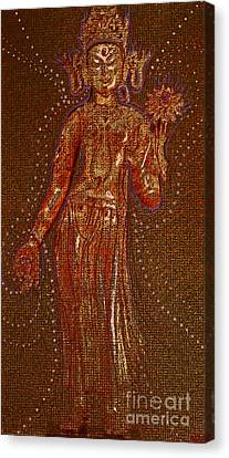 Gold Star Mother Canvas Print - Goddess 1 by First Star Art