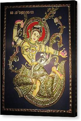 Goddess Tara Canvas Print by Asha Nayak