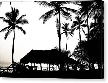 God's Beach Canvas Print by Atom Crawford