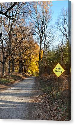 Gods Country Canvas Print by Bill Cannon