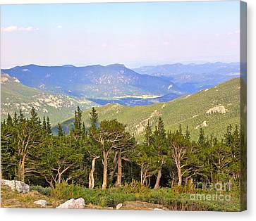 Canvas Print featuring the photograph God's Country by Eve Spring