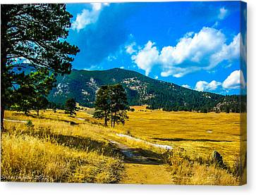 Canvas Print featuring the photograph God's Country by Shannon Harrington