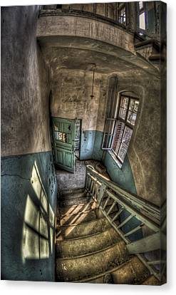 Haunted House Canvas Print - Going Down  by Nathan Wright