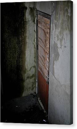 Going Down Canvas Print by Odd Jeppesen
