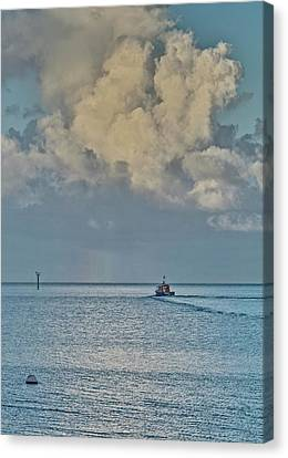 Going Fishing Canvas Print
