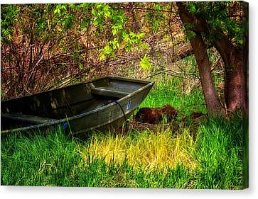 Canvas Print featuring the photograph Going Fishing by Joe Urbz