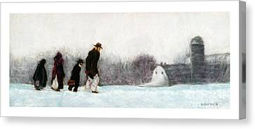 Going Home Canvas Print by Barry Rothstein