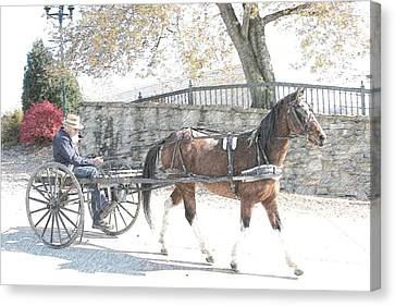 Going Home Canvas Print by Western Roundup