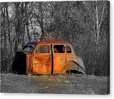 Going No Where Fast Canvas Print by John Comeau