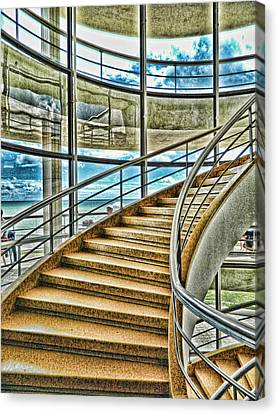 Going Up? Canvas Print by Sharon Lisa Clarke