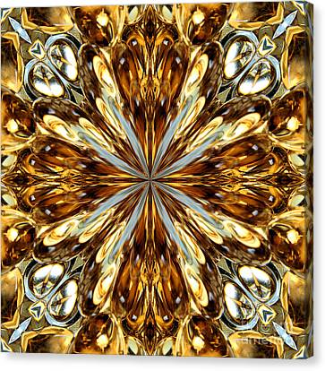 Gold Medallion 5 Canvas Print