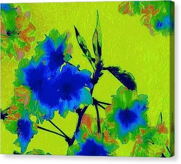 Golden Blossom Canvas Print by Jen White