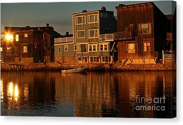 Canvas Print featuring the photograph Golden Evenings by Adrian LaRoque