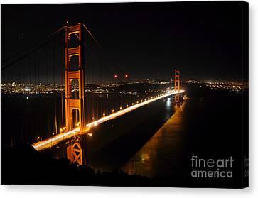 Golden Gate Bridge 2 Canvas Print by Vivian Christopher