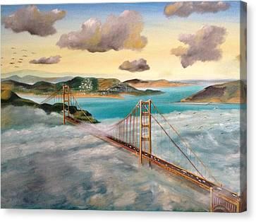 Golden Gate Bridge Canvas Print by Biren