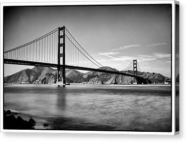 Golden Gate Bridge Canvas Print by Tanya Harrison