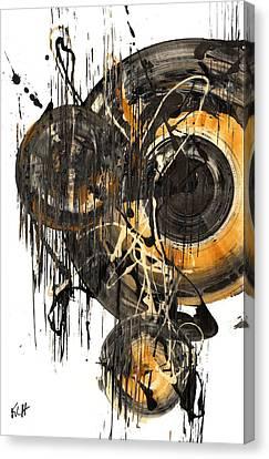 Golden Glow  69.041611 Canvas Print by Kris Haas