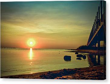 Canvas Print featuring the photograph Golden Hour by Jason Naudi Photography