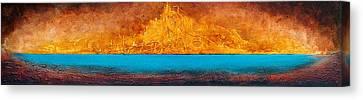 Golden Island  Canvas Print by Mauro Celotti
