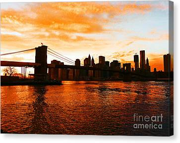Golden Memories Canvas Print