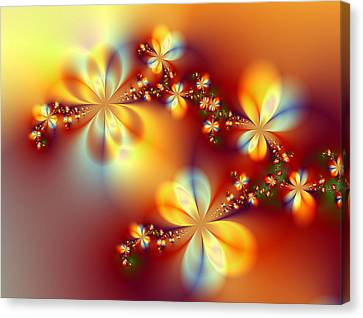 Golden Paradise Canvas Print by Ester  Rogers