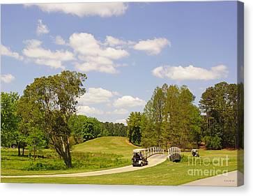 Golf At Calloway Gardens Canvas Print by J Jaiam