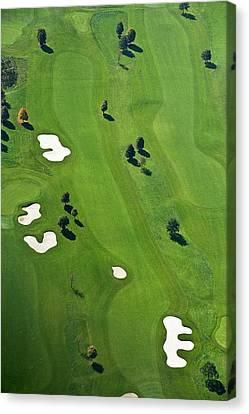 Golf Course Canvas Print by Daniel Reiter