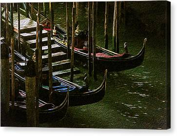 Gondole Canvas Print by Celso Bressan