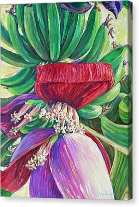 Gone Bananas Canvas Print by Li Newton