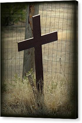 Gone But Not Forgotten Canvas Print by Terry Eve Tanner