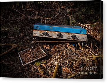 Gone Camping Canvas Print by John Farnan