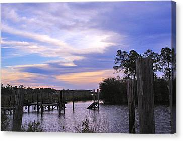 Canvas Print featuring the photograph Gone Fishin.. by Brian Wright