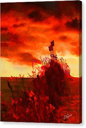 Gone South Canvas Print by Suni Roveto